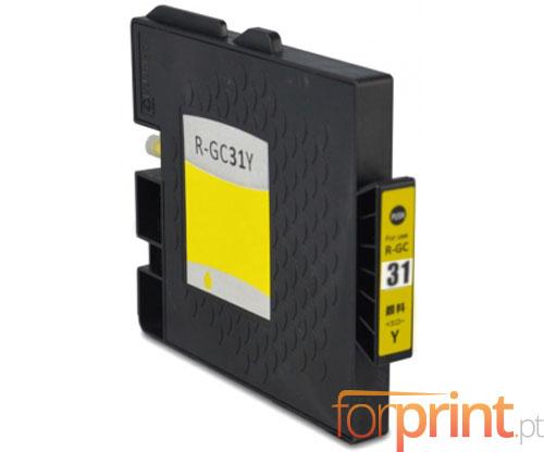 Tinteiro Compativel Ricoh GC-31 / GC-31 XXL Amarelo 64ml