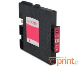 Tinteiro Compativel Ricoh GC-21 / GC-21 XXL Magenta 64ml