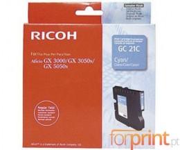 Tinteiro Original Ricoh GC-21 C Cyan ~ 1.000 Paginas