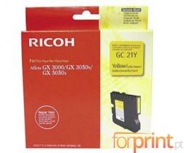 Tinteiro Original Ricoh GC-21 Y Amarelo ~ 1.000 Paginas