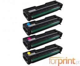 4 Toners Compativeis, Ricoh 40605X Preto + Cor ~ 2.000 Paginas