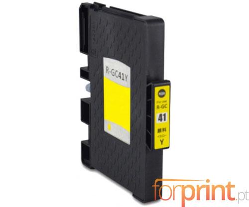 Tinteiro Compativel Ricoh GC-41 / GC-41 XXL Amarelo 22ml
