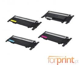 4 Toners Compativeis, Samsung 404S Preto + Cor ~ 1.500 / 1.000 Paginas