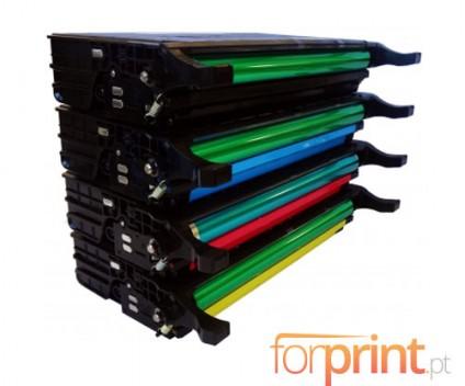 4 Toners Compativeis, Samsung 5082L Preto + Cor 5.000 / 4.000 Paginas