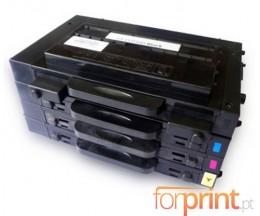 4 Toners Compativeis, Samsung 500D Preto + Cor 7.000 / 5.000 Paginas