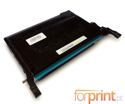 Toner Compativel Samsung 600A Amarelo ~ 4.000 Paginas