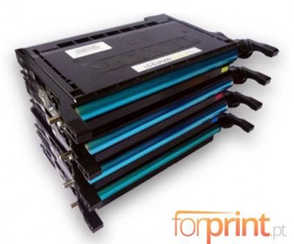 4 Toners Compativeis, Samsung 600A Preto + Cor ~ 4.000 Paginas