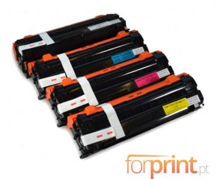 4 Toners Compativeis, Samsung 506L Preto + Cor 6.000 / 3.500 Paginas