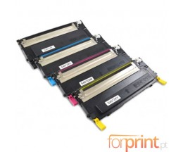 4 Toners Compativeis, Samsung 4072S Preto + Cor ~ 1.500 / 1.000 paginas