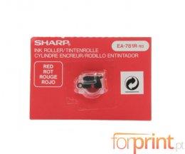 Rolo de Tinta Original Sharp EA781RRD Vermelho