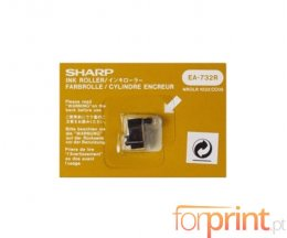 Rolo de Tinta Original Sharp EA732R Roxo