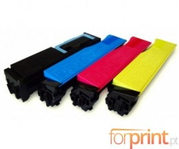 4 Toners Compativeis, Utax 3521 Preto + Cor ~ 5.000 / 4.000 Paginas