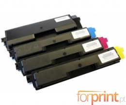 4 Toners Compativeis, Utax 3721 Preto + Cor ~ 3.500 / 2.800 Paginas