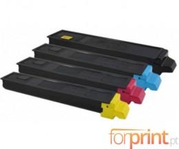 4 Toners Compativeis, Utax 5520 Preto + Cor ~ 12.000 / 6.000 Paginas