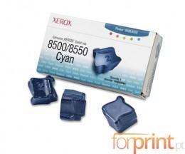 3 ColorSticks Originais, Xerox 108R00669 Cyan ~ 3.000 Paginas