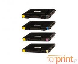 4 Toners Compativeis, Xerox 106R0068X Preto + Cor ~ 7.000 / 5.000 Paginas