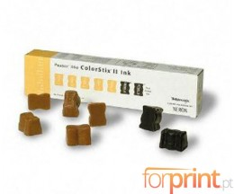 7 Tinteiros Originais, Xerox 016190501, 5 Amarelo + 2 Pretos ~ 7.000 Paginas