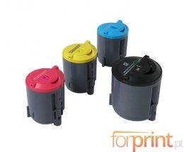 4 Toners Compativeis, Xerox 106R0127X Preto + Cor ~ 2.000 / 1.000 Paginas