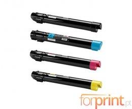 4 Toners Compativeis, Xerox 006R0139X Preto + Cor ~ 25.000 / 15.000 Paginas
