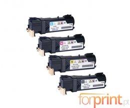 4 Toners Compativeis, Xerox 106R0128X Preto + Cor ~ 2.500 / 1.900 paginas
