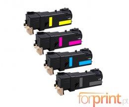 4 Toners Compativeis, Xerox 106R0145X Preto + Cor ~ 3.100 / 2.500 Paginas
