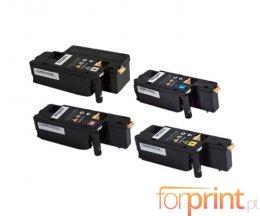 4 Toners Compativeis, Xerox 106R0275X Preto + Cor ~ 2.000 / 1.000 Paginas