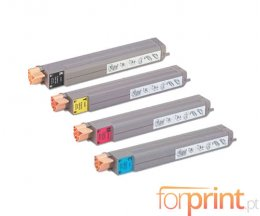 4 Toners Compativeis, Xerox 106R0108X Preto + Cor ~ 15.000 / 18.000 Paginas