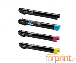 4 Toners Compativeis, Xerox 106R0150X Preto + Cor ~ 18.000 / 12.000 Paginas