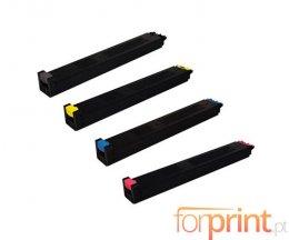 4 Toners Compativeis, Sharp MX31 Preto + Cor ~ 18.000 / 15.000 Paginas