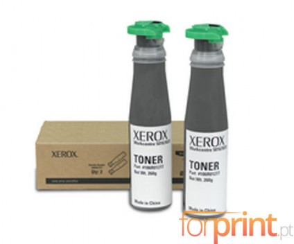 2 Toners Originais, Xerox 106R01277 Preto ~ 6.300 Paginas