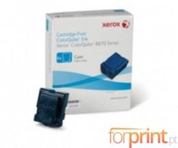 6 Toners Originais, Xerox 108R00954 Cyan ~ 17.300 Paginas