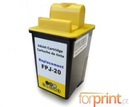 Tinteiro Compativel Olivetti FJ-20 Preto 20ml