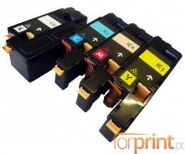 4 Toners Compativeis, Xerox 6000 Preto + Cor ~ 2.000 / 1.000 Paginas