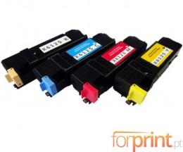 4 Toners Compativeis, Xerox 6125 Preto + Cor ~ 2.000 / 1.000 Paginas