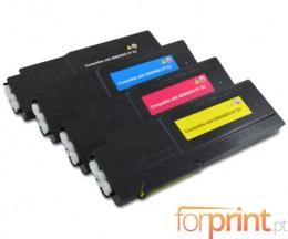 4 Toners Compativeis, Xerox 6600 Preto + Cor ~ 8.000 / 6.000 Paginas