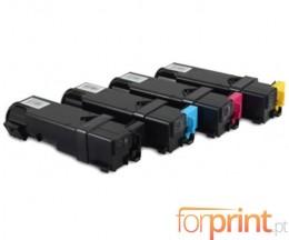 4 Toners Compativeis, Xerox 6500 Preto + Cor ~ 3.000 / 2.500 Paginas