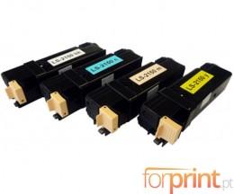 4 Toners Compativeis, Xerox 6140 Preto + Cor ~ 2.600 / 2.000 Paginas