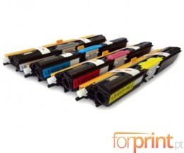 4 Toners Compativeis, Xerox 6121 Preto + Cor ~ 2.600 Paginas